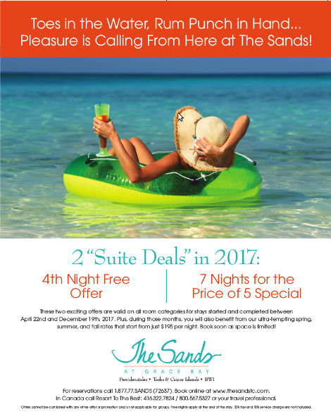The Sands Suite Deal Promo
