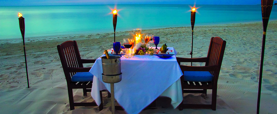Grace Bay Club, Turks & Caicos - Beach Dining