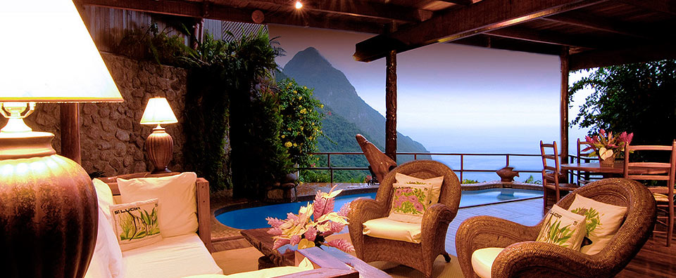 Ladera, St. Lucia - 2 Bedroom Villa